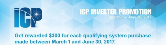 2017 ICP Spring Inverter Promotion blog header